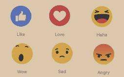 Facebook's worldwide launch of Reactions