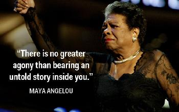 The magic of Maya Angelou's words!