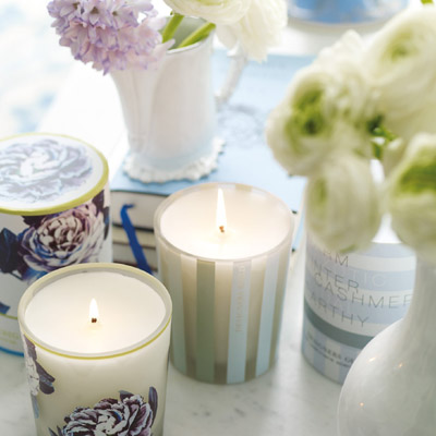 6.	Buy fragrant candles.