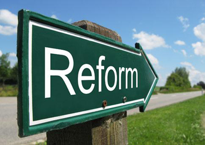 1.	Not exactly a reform but we do need a renovation.
