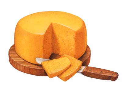 2. The good cheddar cheese gift!
