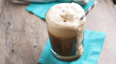 3. Ice cream float
