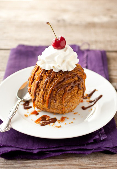 4. Fried ice cream