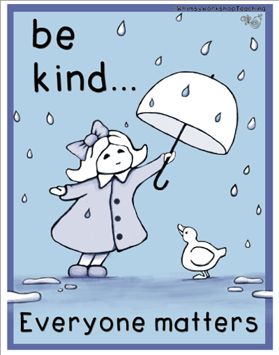 10. Be kind