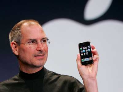 10. First iPhone took the world by storm 9 years ago