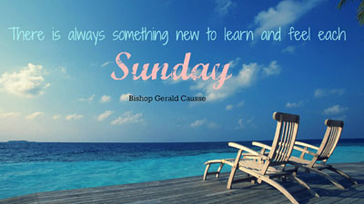Sunday can be a funday and relaxing too!